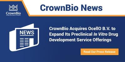 CrownBio Acquire OcellO