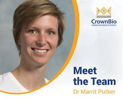 Dr Marrit Putker, Organoid Research Scientist at CrownBio